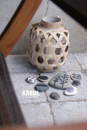 Steinreich mit KREUL Acryl Metallic Marker
