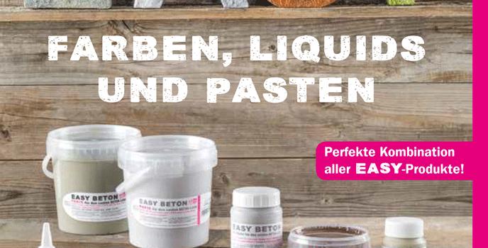 efco EASY Farben, Liquids und Pasten