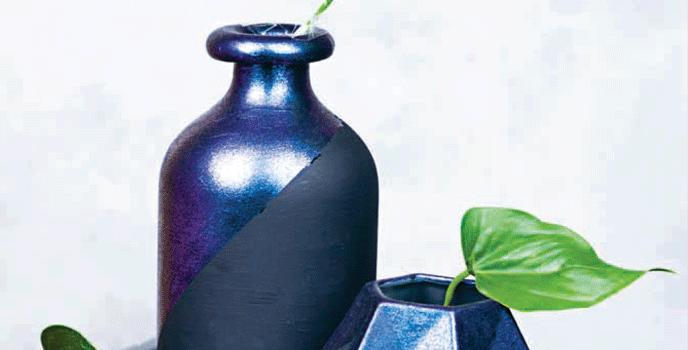 Marabu Vasen-Duo – schimmerndes Lichtspiel