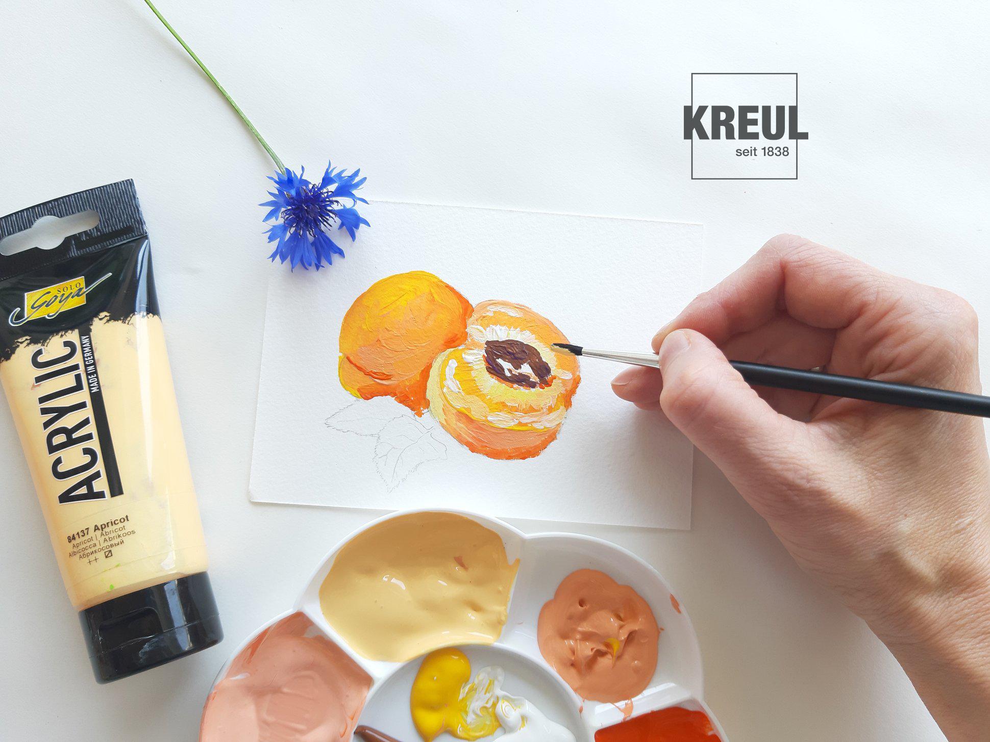 Farbe des Monats: Apricot