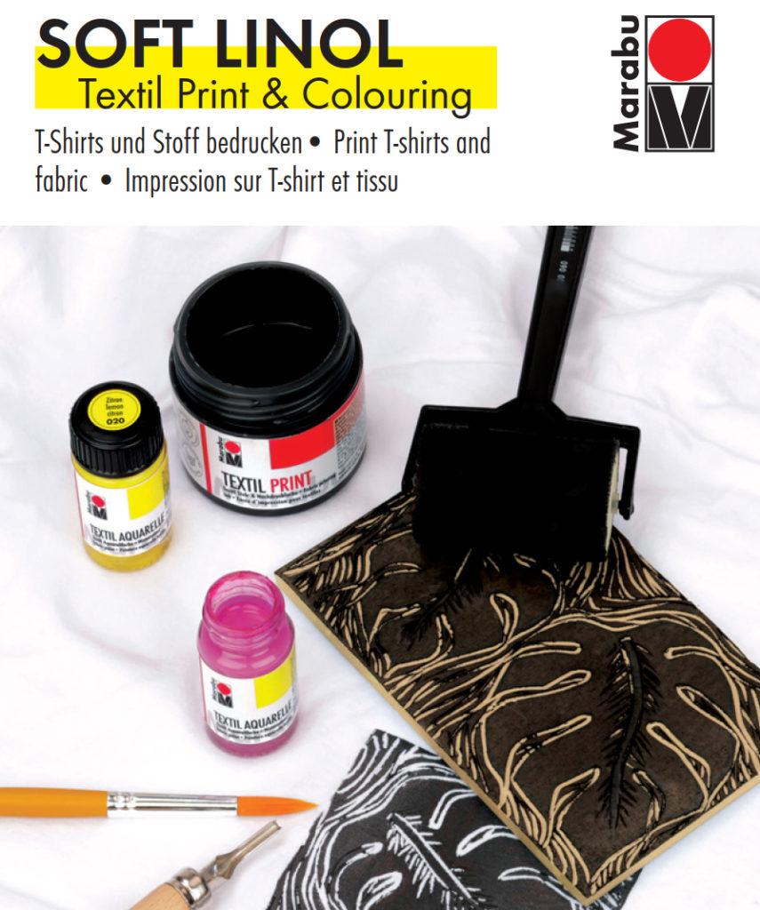 Marabu SOFT LINOL Textil Print & Colouring