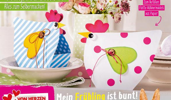 Mein Deko- und Bastelspaß – Mein Frühling ist bunt!