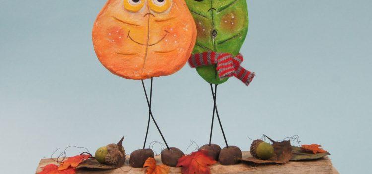 Basteltipp: Freche Herbstboten