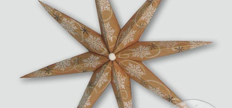 Mein DEKO- und Bastelspaß Winter 2020, Weihnachtssterne, Vintage-Stern