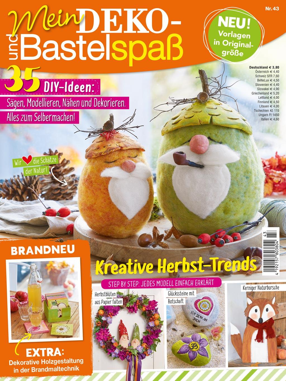 Deko- und Bastespaß Herbst 2021 (BS43), Titelbild