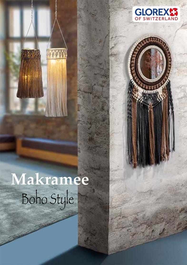 Mein DEKO- und Bastelspaß Herbst 2021, Basteltipp GLOREX Makramee Boho Style