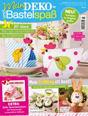 Deko- und Bastelspaß Nr. 37 Frühjahr 2020, Titelseite
